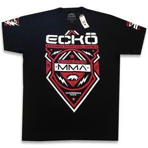 Ecko Unltd MMA Men's Crew Neck Short Sleeve Black